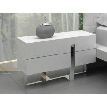 Modrest Voco - Modern White Bedroom Nightstand