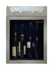 4-Bottle Wine Dispenser (Stainless) - Scratch n Dent