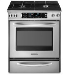 30-Inch 4-Burner Dual Fuel Slide In Range, Architect® Series II - Stainless Steel  *** Floor Model Closeout Price ***