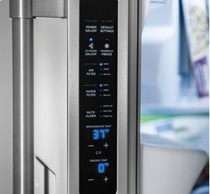 Frigidaire Professional 22.6 Cu. Ft. Counter-Depth Side-by-Side Refrigerator