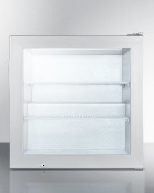 Countertop Commercial Freezer With Self-closing Door and Stainless Steel Wrapped Cabinet; Replaces Fs20lcss