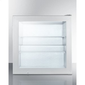 SummitCountertop Commercial Freezer With Self-closing Door and Stainless Steel Wrapped Cabinet; Replaces Fs20lcss