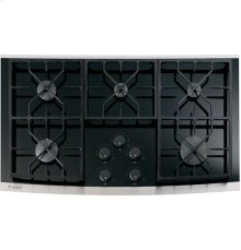 "GE Monogram® 36"" Gas on Glass Cooktop"