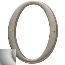 Satin Nickel with Lifetime Finish House Number - 0