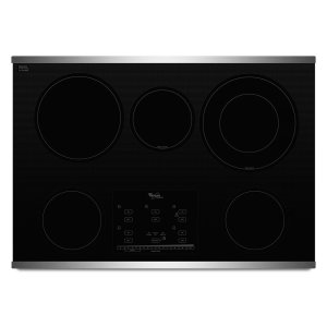 Gold(R) Series 30-inch Electric Ceramic Glass Cooktop with Tap Touch Controls - STAINLESS STEEL