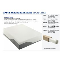 "F8252EK / Cat.19.p137- KING FOAM MATTRESS 12""H"