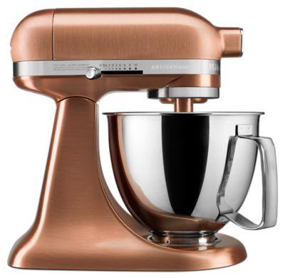 Artisan® Mini Copper Clad 3.5 Quart Tilt Head Stand Mixer   Satin Copper