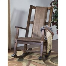 Savannah Rocker With Cushion Seat and Back