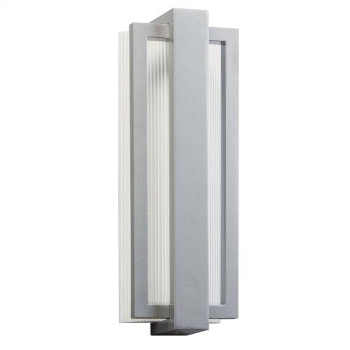 "Sedo 18.25"" 1 Light LED Wall Light Platinum"