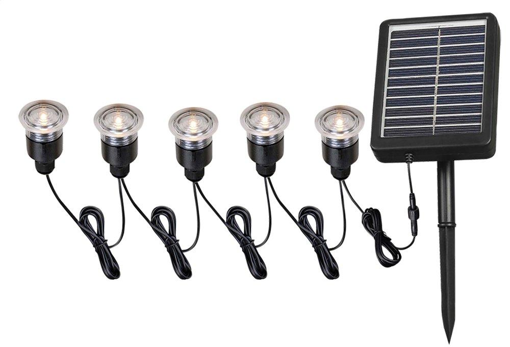 Solar Deck and Path Lights - 5 Light Light String