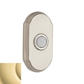 Polished Brass BR7017 Arch Bell Button