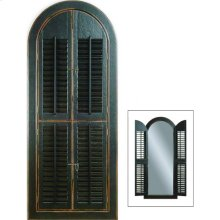 Arched Shutter Mirror
