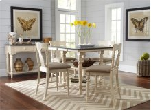 Rectangular Counter Height Table w/ Leaf