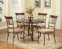 5-Pc. Hamilton Dining Set - (1) 697-413 Dining Table & (4) 697-434 Side Chairs Product Image