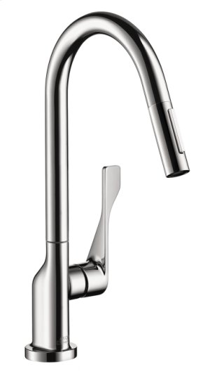 Chrome Citterio 2-Spray HighArc Kitchen Faucet, Pull-Down Product Image