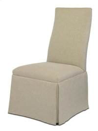 Chandler Curved Back With Straight Top Chair Product Image