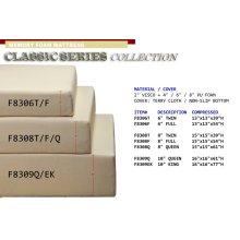 "F8306F / Cat.19.p138- FULL VISCO FOAM MATTRESS 6""H"