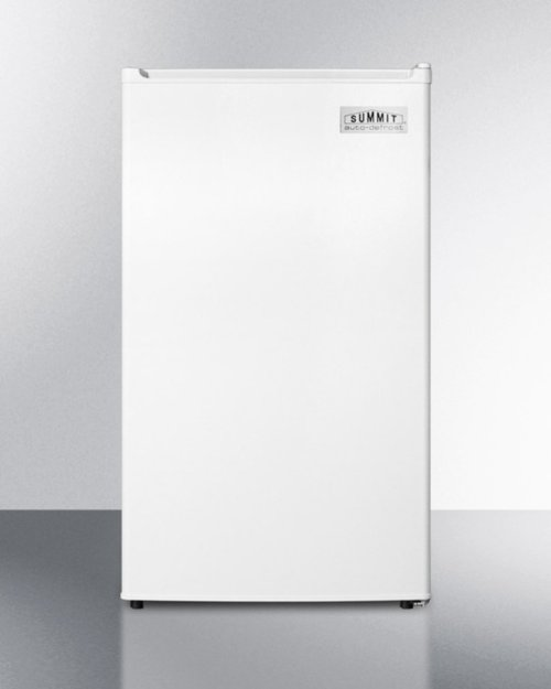 Energy Star Qualified Compact Refrigerator-freezer, Counter Height With Auto Defrost and White Exterior