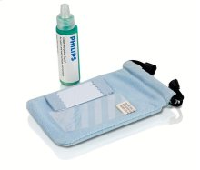 Screen protector/cleaning kit