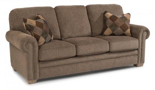 Harrison Fabric Sofa with Nailhead Trim