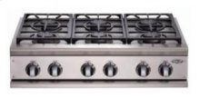 "36"" Cooktop, 6 Burner"
