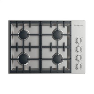 "FISHER & PAYKELGas Cooktop 30"", 4 burner (LPG)"