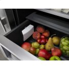 42-Inch Built-In Side-by-Side Refrigerator with Water Dispenser, Pro-Style® Stainless Product Image