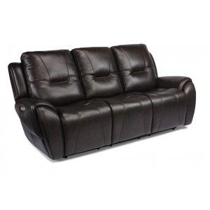 FlexsteelTrip Power Reclining Sofa with Power Headrests