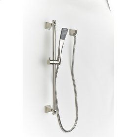 Polished Nickel Hudson (Series 14) Slide Bar with Hand Shower