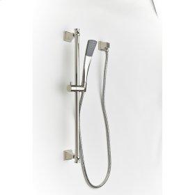 Polished Nickel Hudson (Series 14) Slide Bar with Hand Shower