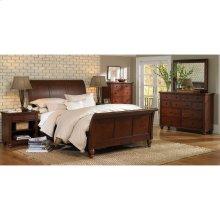 Queen Sleigh Bed HB