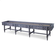 Spindle Shuffleboard Table - Grey
