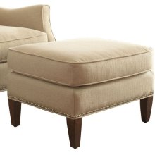 Haynes Ottoman With Nailhead Trim