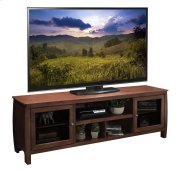 """Curve 76"""" Console, Spiced Rum Product Image"""