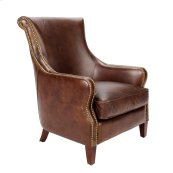 David Leather Armchair