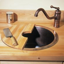 Copper Veggie Sink