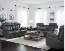 Manual Dropdown Grey Sofa