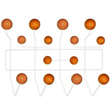 Gumball Coat Rack in Caramel