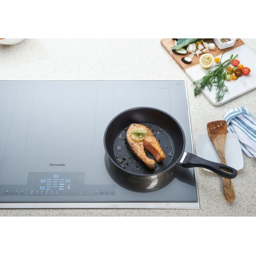 36-Inch Liberty Induction Cooktop, Silver Mirrored, Framed