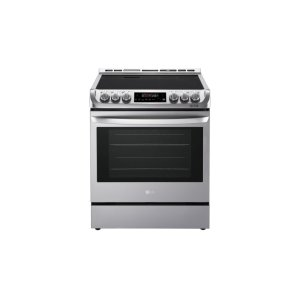 LG Appliances6.3 cu. ft. Electric Slide-in Range with ProBake Convection(R) and EasyClean(R)