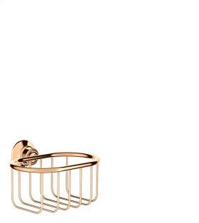Polished Bronze Corner basket 160/101