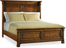 Tynecastle Queen Panel Bed