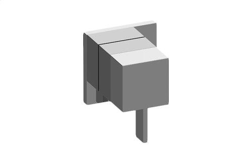 Qubic M-Series 2-Way Diverter Valve Trim with Handle