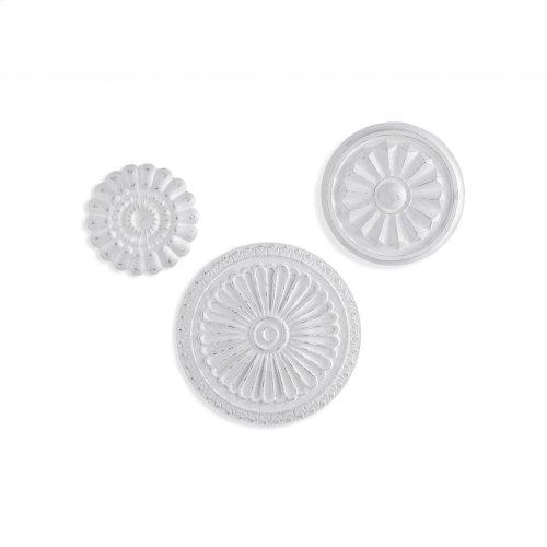 Flower Medallions (S/3)