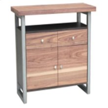 Spring Creek Industrial Natural Walnut Server