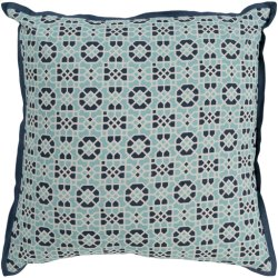 "Francesco FNC-004 18"" x 18"" Pillow Shell with Polyester Insert"