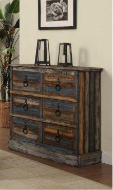 Calypso 6 Drawer Dresser