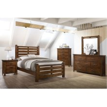 1022 Logan Full Bed with Dresser & Mirror