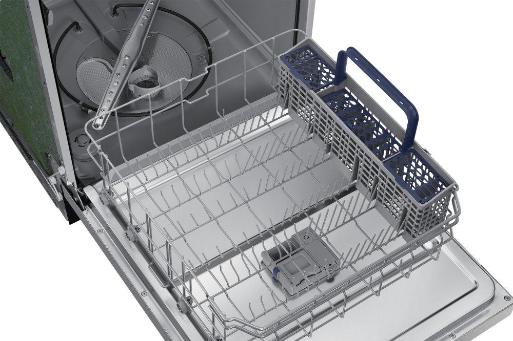 DW80N3030US Samsung Appliances Front Control Dishwasher with Hybrid
