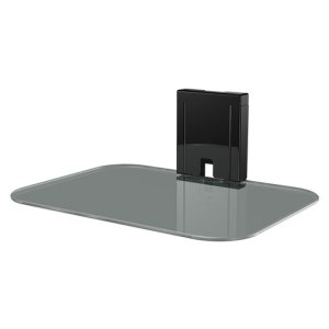 SANUSTempered Glass On-Wall AV Component Shelf